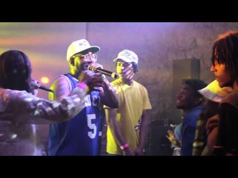 """DonMonique Raps """"TYPE FREAKY"""" Verse (Live) over Chuck Inglish BEATBOX @ SXSW 2016"""