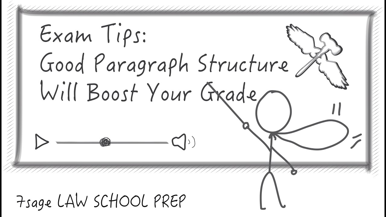 Exam Tips: Good Paragraph Structure Will Boost Your Grade