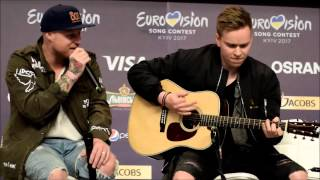 Скачать JOWST Feat Aleksander Walmann Grab The Moment Justin Timberlake Version At Kyiv Eurovision