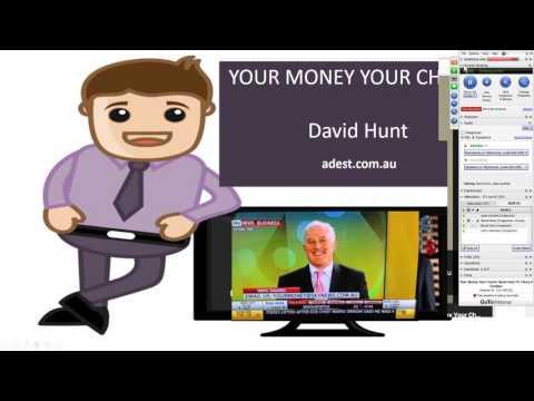 Australian Shares Strategies Your Money Your Charts David Hunt TV Thurs 29 October