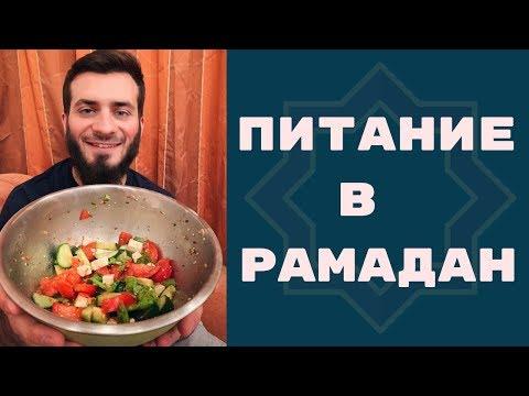 3 главных правила питания во время поста в Рамадан