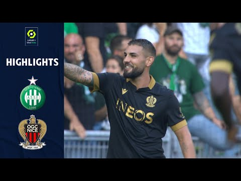 St. Etienne Nice Goals And Highlights