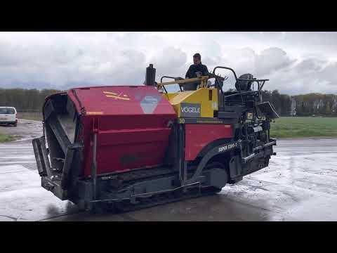 Used heavy machinery Vogele SUPER 1300-2 Asphaltfertiger