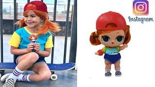 Куклы #LOL в реальной жизни/ LOL dolls in real life