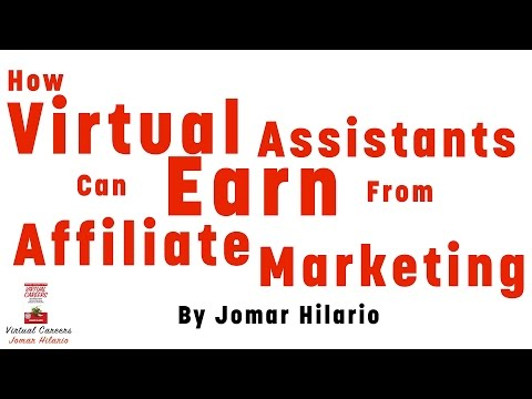 Virtual Assistant Training: How Virtual Assistants Can Earn From Affiliate Marketing