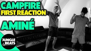 AMINÉ - CAMPFIRE (FT. INJURY RESERVE) REACTION/REVIEW (Jungle Beats) mp3