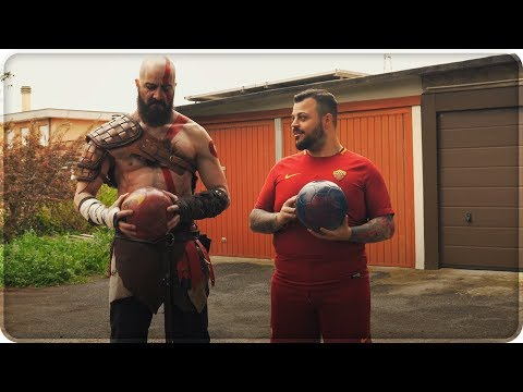 GOD OF WAR IN REAL LIFE !!!