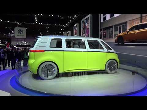VW ID BUZZ at the Tokyo Motor Show