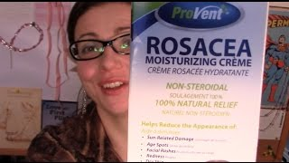 Will ProVent Rosacea Moisturizing Cream Work for Me? (not sponsored)| Rosy JulieBC