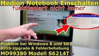 Video Medion Notebook lässt sich nicht einschalten - Einschalter defekt? - Nein - Laptop FIX Windows 10 download MP3, 3GP, MP4, WEBM, AVI, FLV Juli 2018