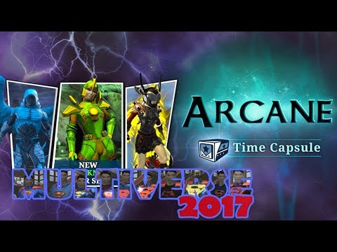 DCUO DCUO; Arcane Time Capsules