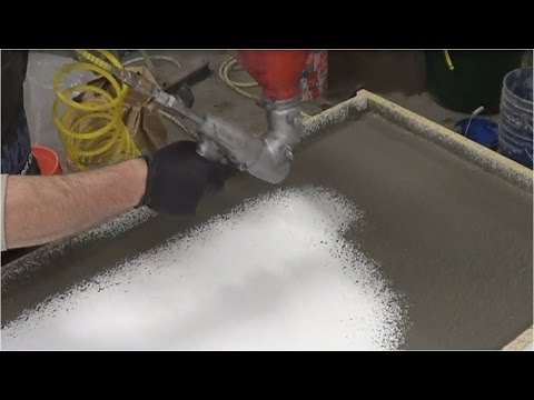 GFRC Masters: Casting a Kitchen - Glass Fiber Reinforced Concrete