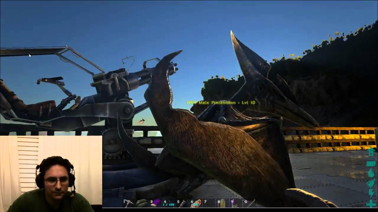 Quetzal pteranodon skeet shooting with minigun video on ark quetzal pteranodon skeet shooting with minigun video on ark survival evolved malvernweather Image collections