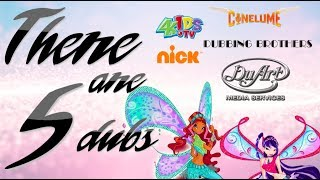 The Many Dubs of Winx Club
