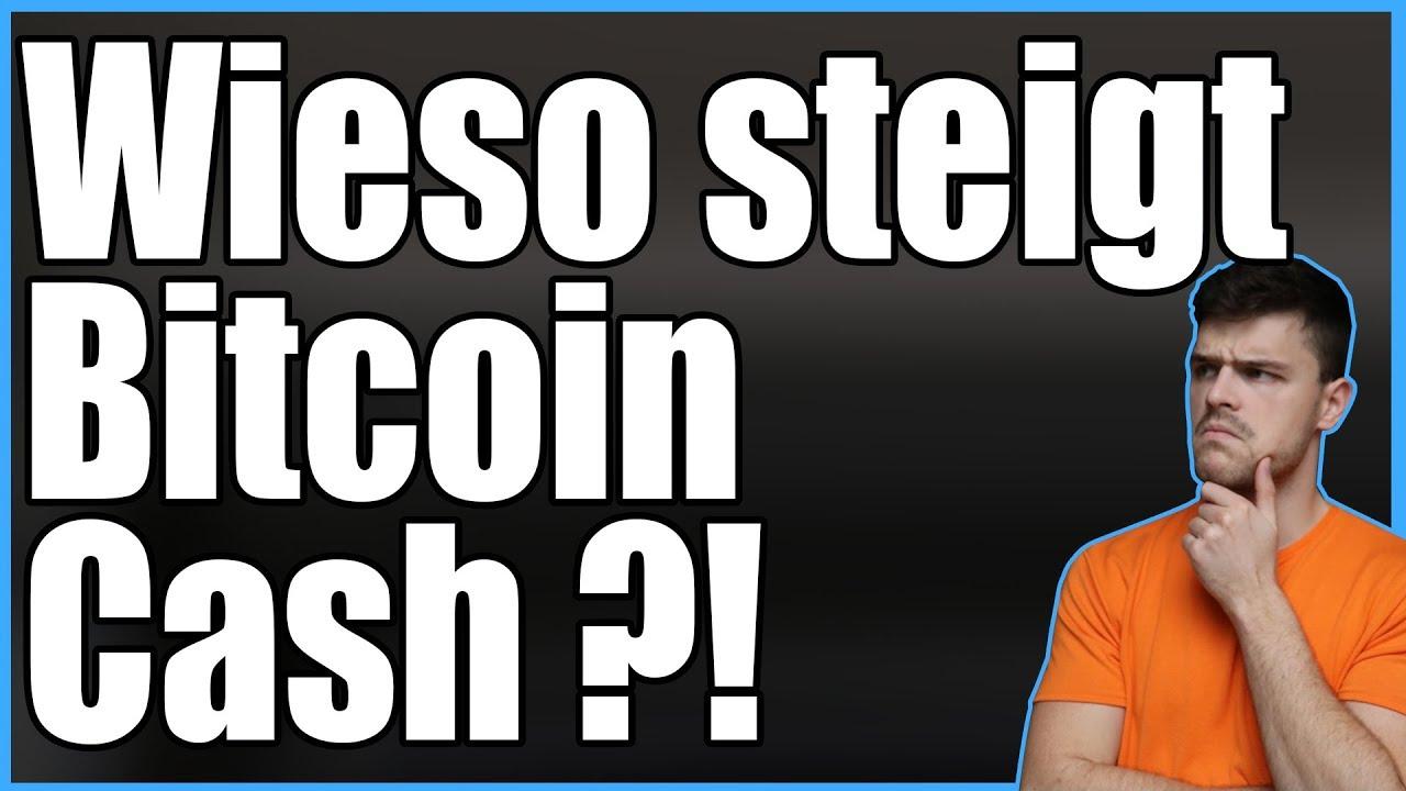 Wieso steigt Bitcoin Cash? London Highlights mit Eli   Krypto News am 23.04.2018
