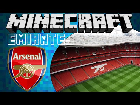 Emirates Football Stadium Tour [Minecraft]