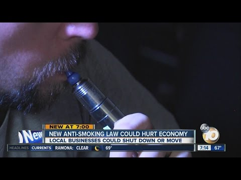 New anti-smoking law could hurt economy
