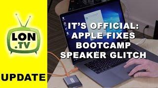 Apple Issues Fix for MacBook Pro 2016 Bootcamp Speaker Glitch / Blown Speakers UPDATE