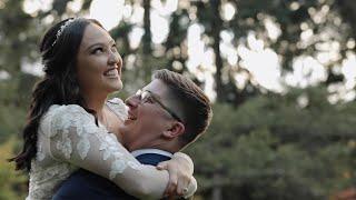 Officiant Beatboxes As Bride Walks Down The Aisle l Washington Wedding Video l Sara + Aran