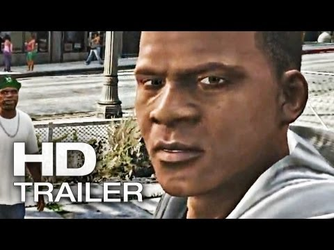 Grand Theft Auto 5: Franklin Trailer Deutsch German | 2013 Official [HD]
