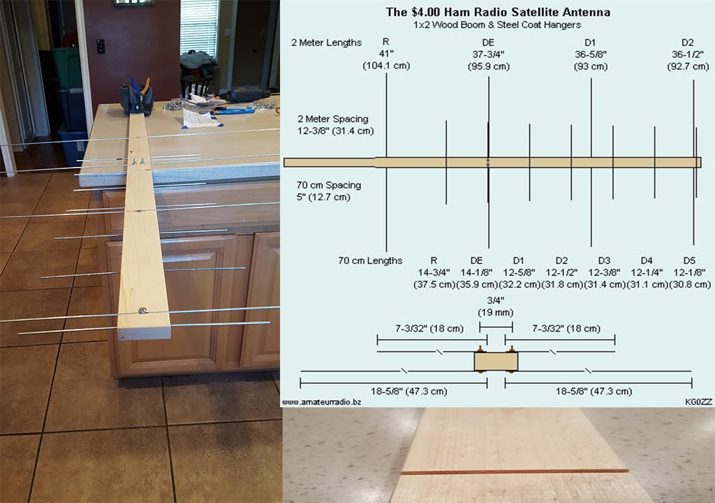 Diy Amateur Radio Satellite Antenna
