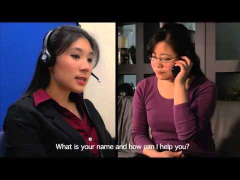 LanguageLine Solutions- LEP calls a Representative