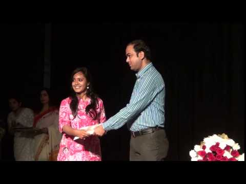 Indore artists receiving awards - 7