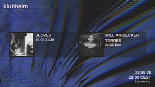 Slopes - Klubheim House Sessions 22.05.20