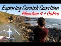 Exploring Cornish Coastline in 1st Person & Phantom 4 Drone