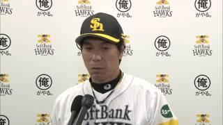 ソフトバンクホークス 秋山幸二監督インタビュー 20140828