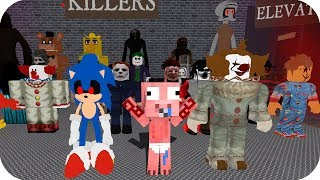 BE Be AENH ESCAPE FROM MONSTERS IN ROBLOX - ROBLOX AENH THE SCARY ELEVATOR