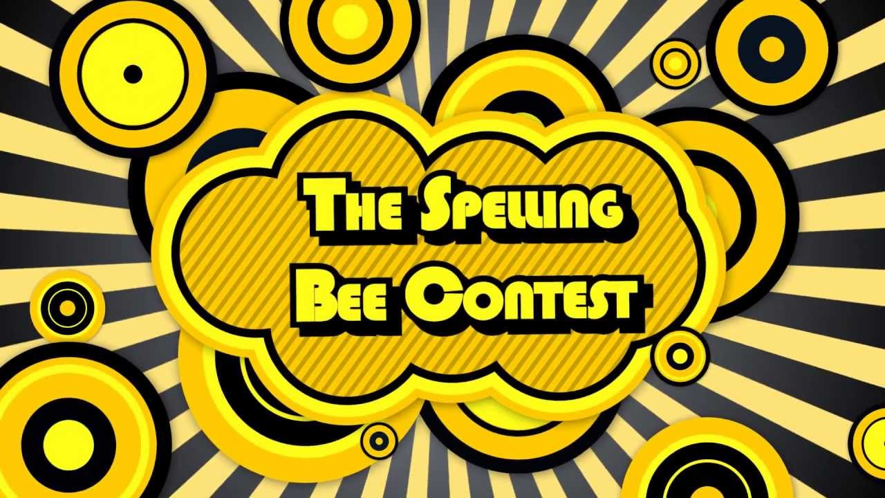 Spelling bee invitation youtube for Spelling bee invitation template