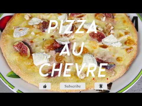 recette-facile-pizza-figue-chèvre