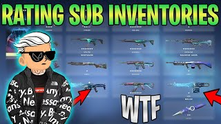 Rating more Subscriber VALΟRANT Inventories (INSANE)