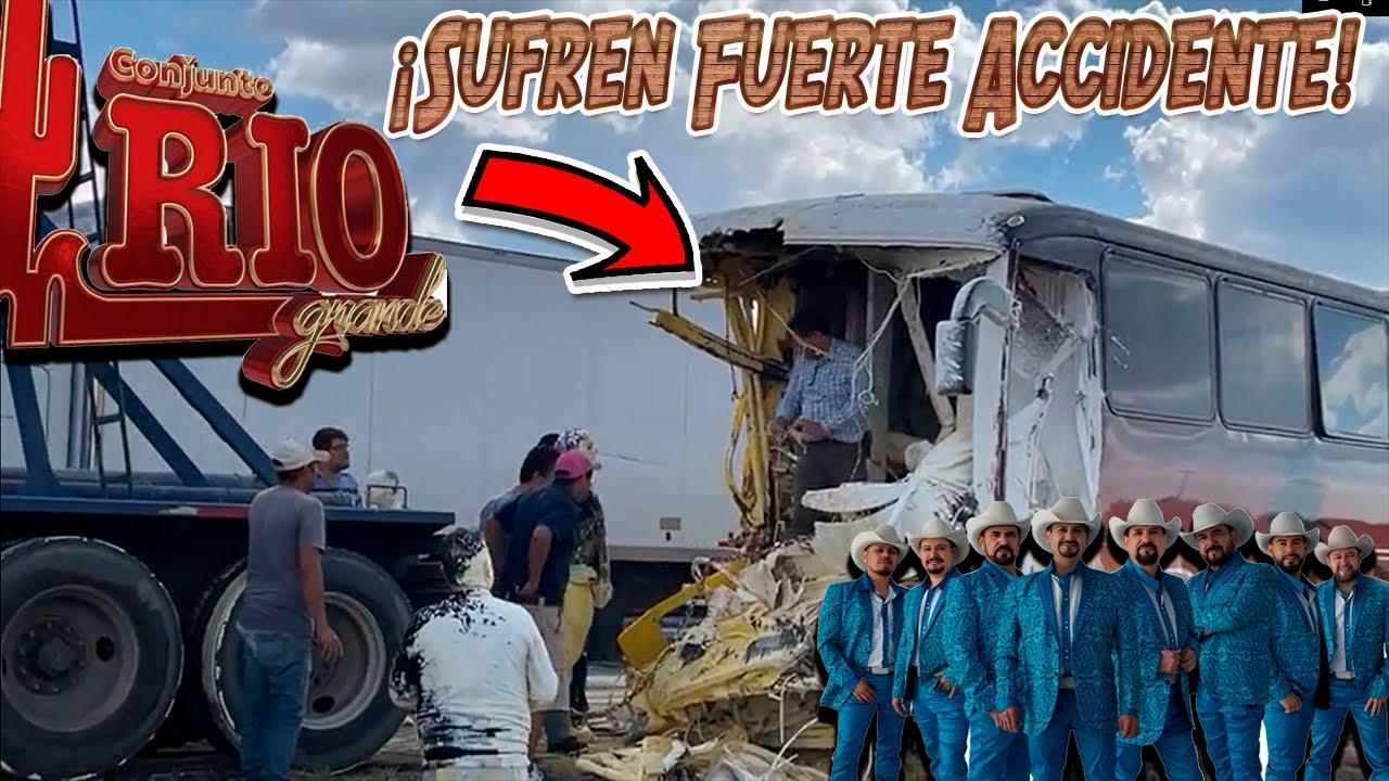 Sufre FUERTE ACCIDENTE el Conjunto Rio Grande!!