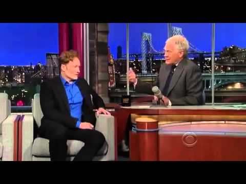 Conan O Brien  david Letterman