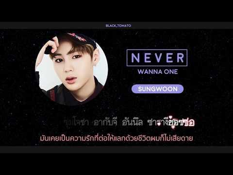 [Karaoke Thaisub] NEVER - WANNA ONE