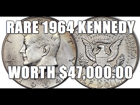 The Rarest 1964 Kennedy Half Dollar Sells For $47,000.00! How To Identify This Valuable Coin!