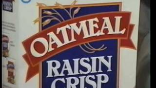 Oatmeal Raisin Crisp Spec Commercial
