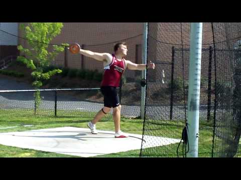 Rich McNeil of Bates - Personal Best Discus Throw - ECAC D-III