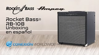 Ampeg Rocket Bass RB-108 Unboxing en Español