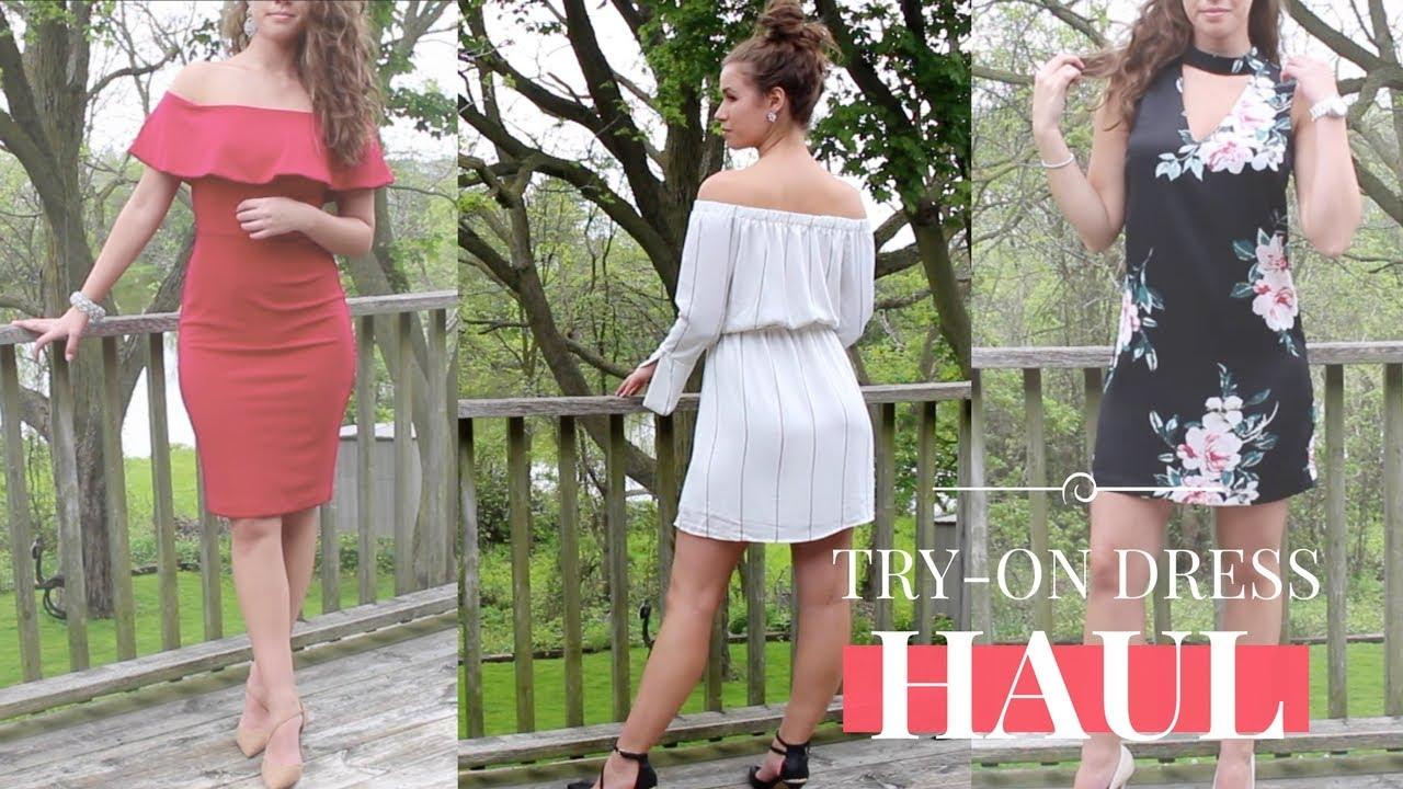 f9e92e873cdb TRY-ON DRESS HAUL  LOOKBOOK - Spring  Summer 2017