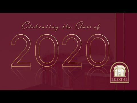 Virtual Commencement Celebration Erskine College 2020