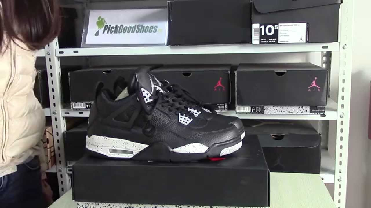 f42e136daec8 Authentic Air Jordan 4 Oreo 2015 New Review From Sneakerhead - YouTube