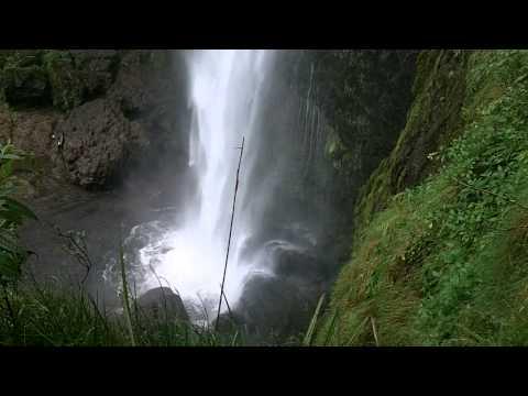 7.8 Earthquake Hits Ecuador The Waterfalls of Giron, Ecuador - El Chorro with Buddy Huggins