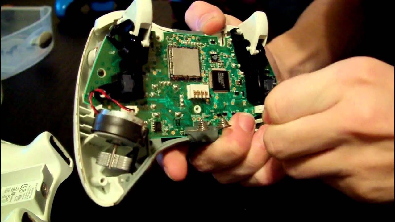 How To Take Apart An Xbox 360 Controller Youtube Schematics