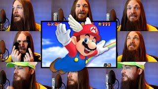 Repeat youtube video Super Mario 64 - Wing Cap Acapella (Mario Starman Theme)