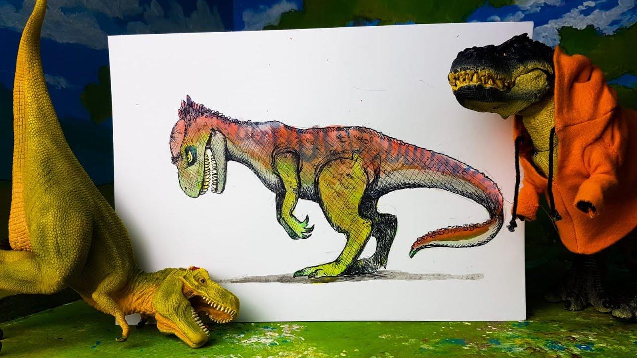 Il PACHIALLOSAURO 🦖🦕 [Come creare una nuova specie di Dinosauro]