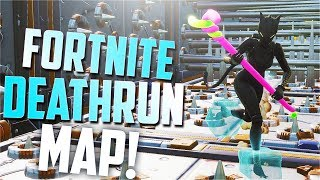 I by MAKE a PARKOUR Map? (Fortnite Deathrun Code)