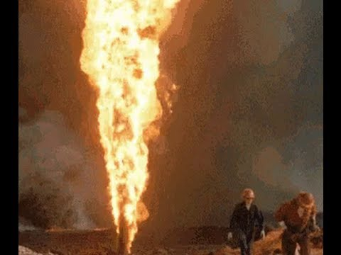 How To Lighting Up An Oil Well Crazy You